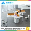 Sistem Fashionable office furniture modern bilik, paling terjangkau workstation LB-13 grosir, membeli, produsen